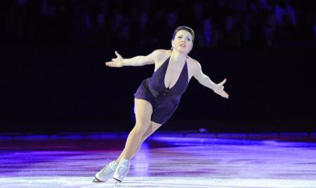 Ирина Слуцкая исполнит роль Повелительницы огня в шоу на льду «АхТамар»